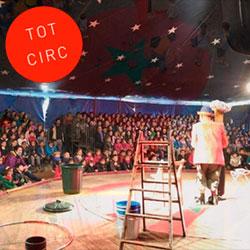Festa del Tió al Circ les Feixes