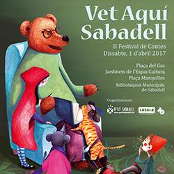 Vet aquí Sabadell, II Festival de Contes