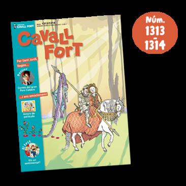 Cavall Fort 1313-1314