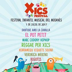 Xics Festival. Festival infantil musical del Moianès