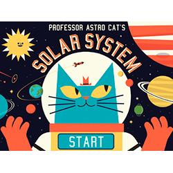 Descobriu el sistema solar amb Astro Cat!
