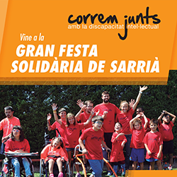 Millà Sarrià – Correm Junts amb la discapacitat intel·lectual