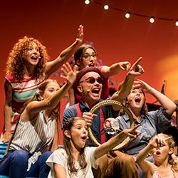 Dàmaris Gelabert al Teatre Victòria
