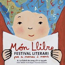 Món Llibre 2019 Festival literari per a infants i joves