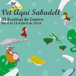 3r Festival de Contes Vet aquí Sabadell