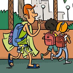 Estàs a punt, per a tornar a escola?