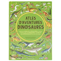 Atles d'aventures: dinosaures