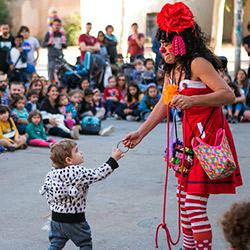 Circ Cric amb Pallassos Sense Fronteres i el Teatre Lliure