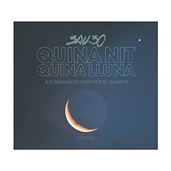 Quina nit, quina lluna, a l'Observatori Astronòmic Albanyà