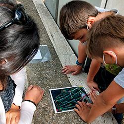 Gimcana d'orientació digital a Banyoles