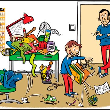 Et saps organitzar?