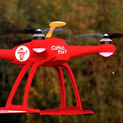 Cavall Fort repartirà les seves revistes amb drons a diverses poblacions catalanes
