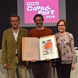 Lliurament del Premi Cavall Fort 2018