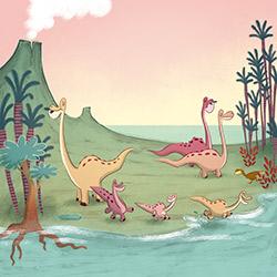 El petit titanosaure