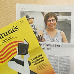 Cavall Fort i el Premi Especial de La Setmana, als mitjans