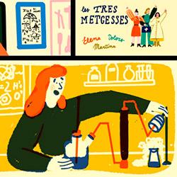 """Històries de dones i ciència amb """"Una mà de contes"""""""